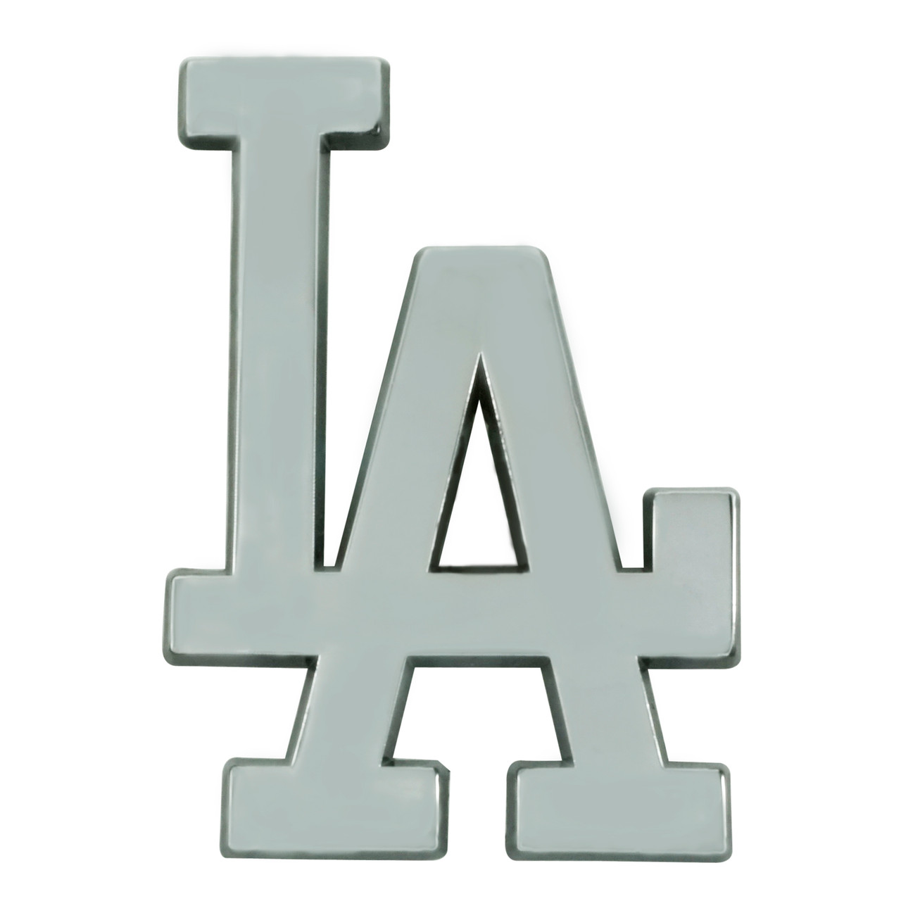 Los Angeles Dodgers Auto Emblem Premium Metal Chrome