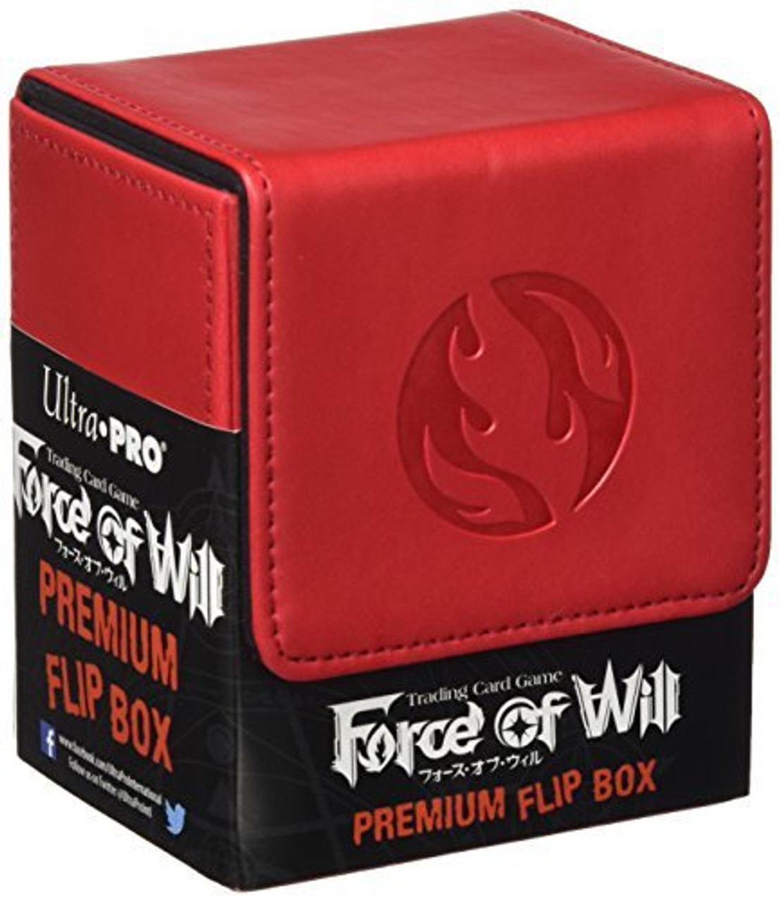Force of Will Flip Box - Flame (Red) - - Special Order