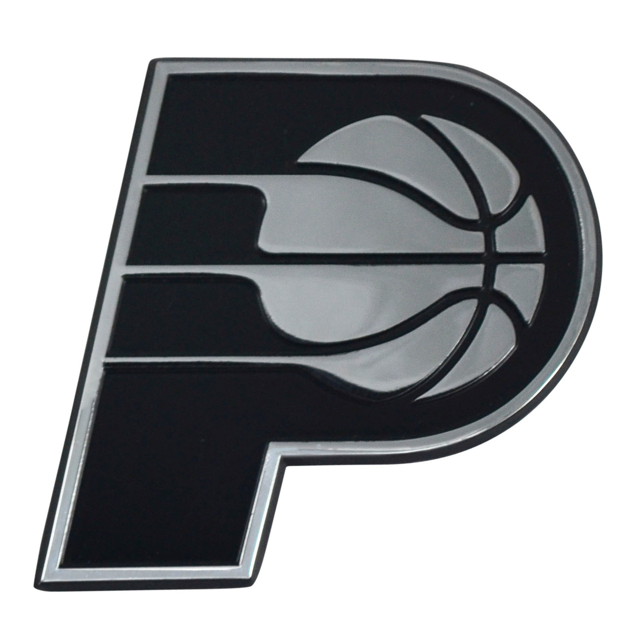 Indiana Pacers Auto Emblem Premium Metal Chrome Special Order