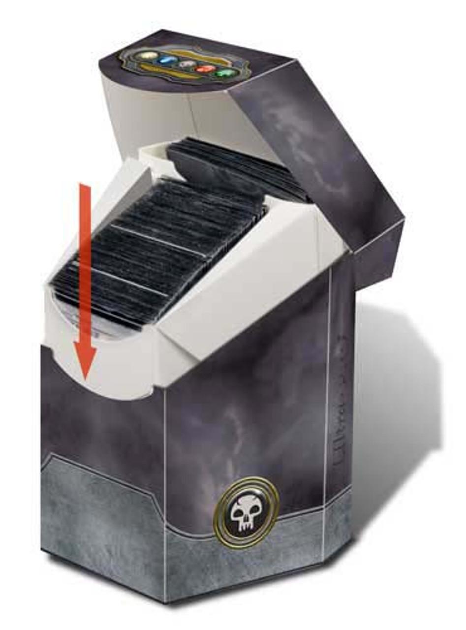 Deck Box, ProHex - Magic: The Gathering - Commander - Black