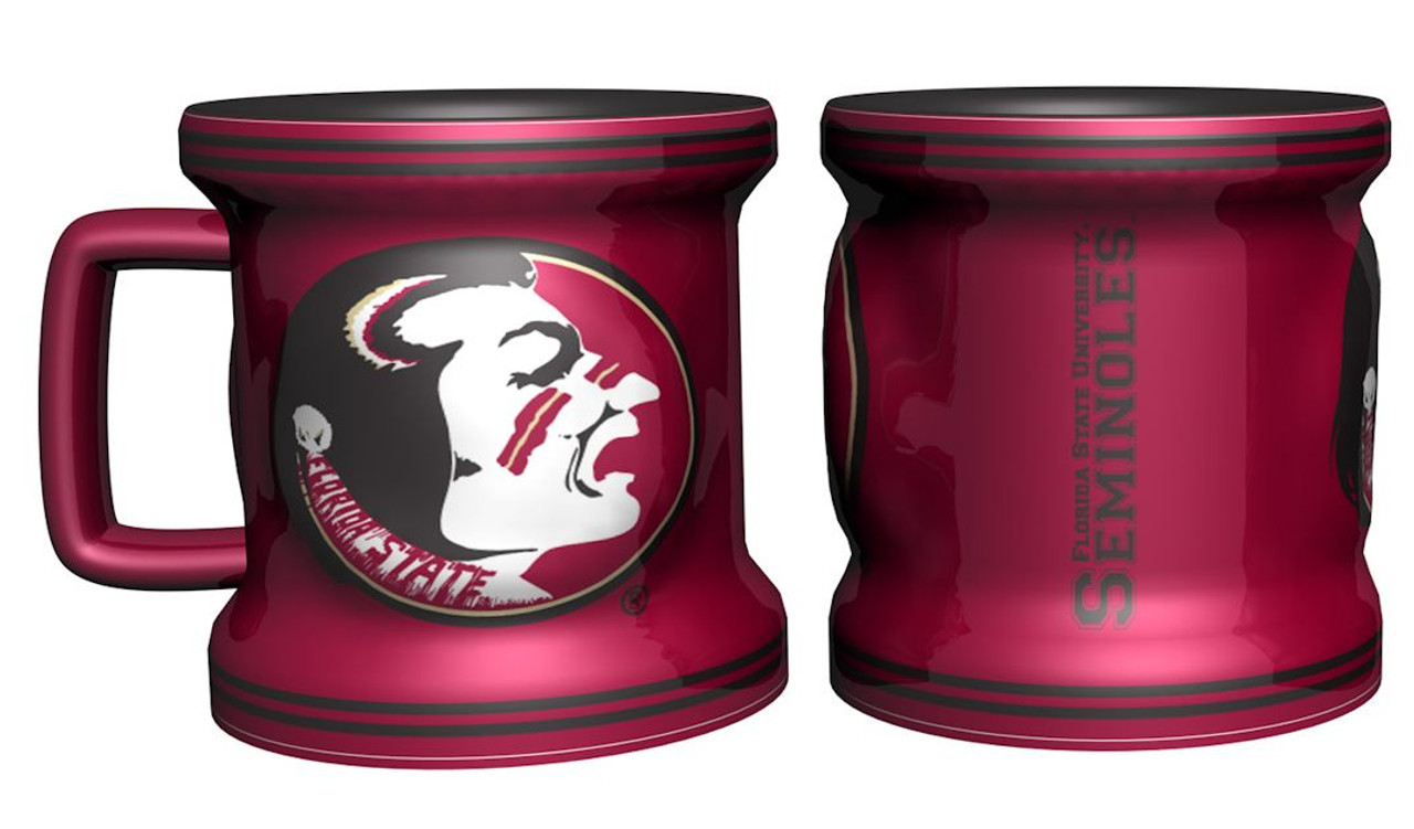 Florida State Seminoles Shot Glass Sculpted Mini Mug Style Special Order