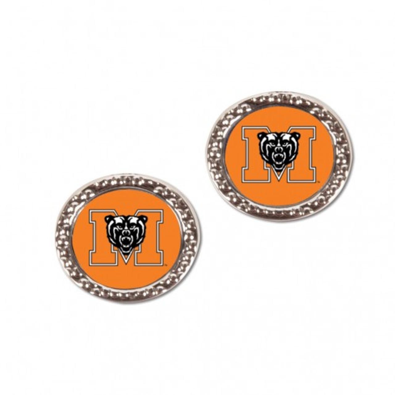 Mercer Bears Earrings Post Style - Special Order