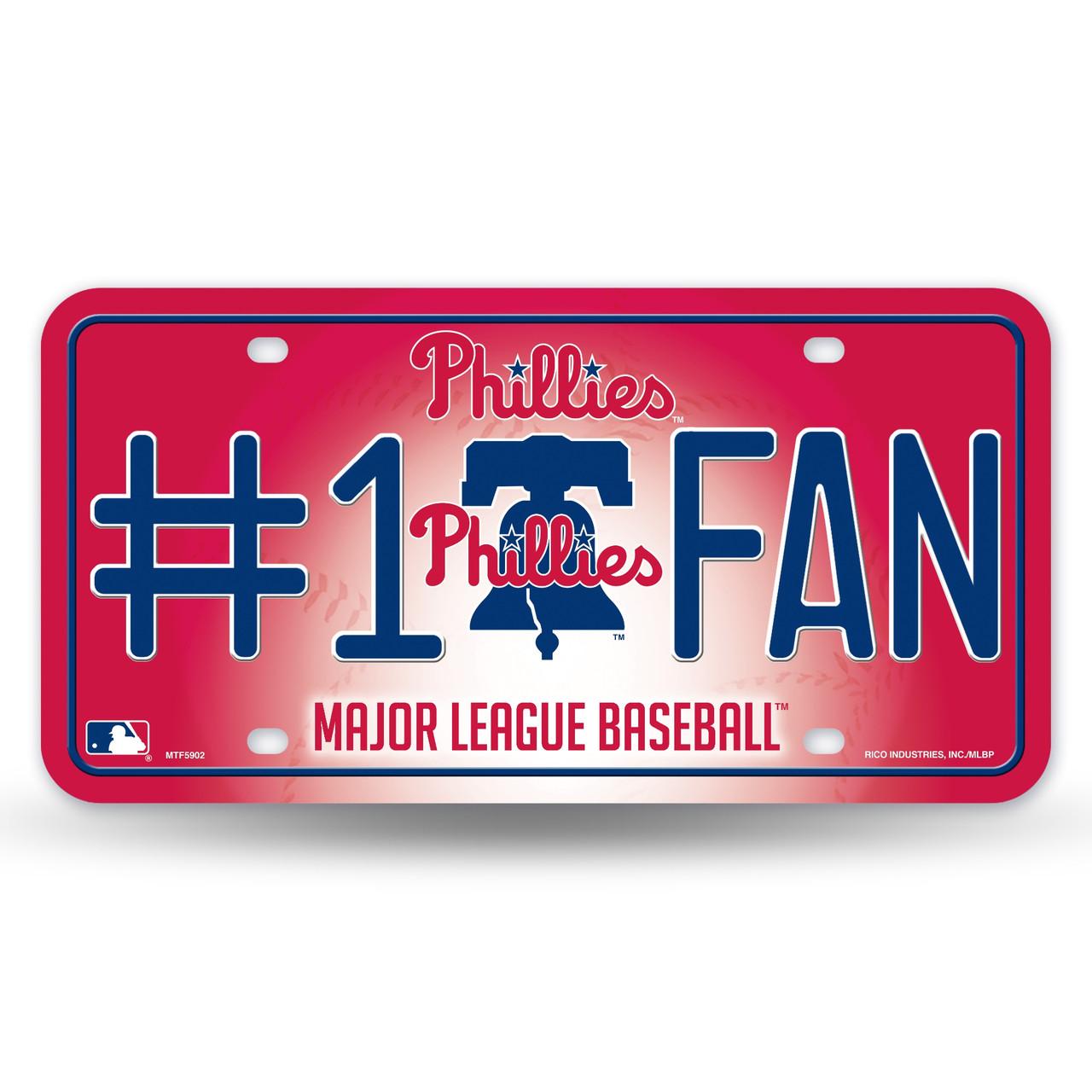 Philadelphia Phillies License Plate #1 Fan Alternate Design