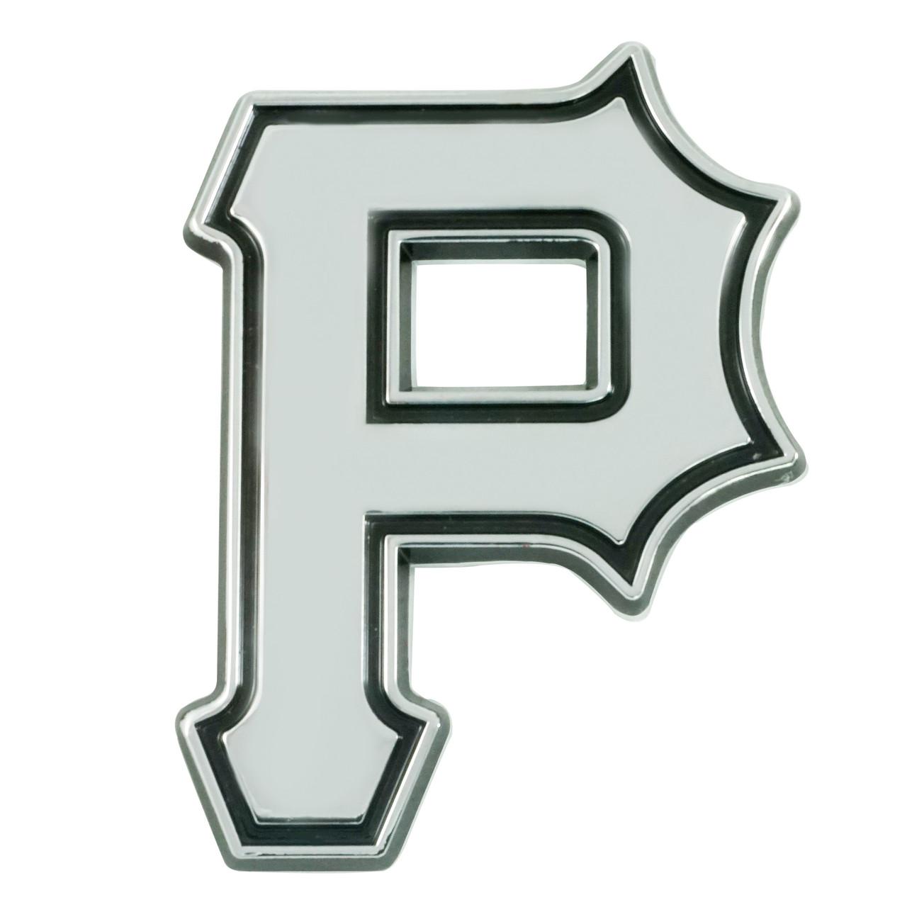 Pittsburgh Pirates Auto Emblem Premium Metal Chrome Special Order