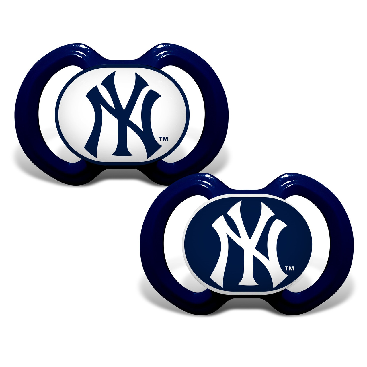 New York Yankees Pacifier 2 Pack Alternate