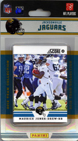 This Package is a must for all Jacksonville Jaguars fans. You'll get a 2012  NFL team set featuring your favorite Jaguars.