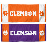 Clemson Tigers Cooling Towel 12x30