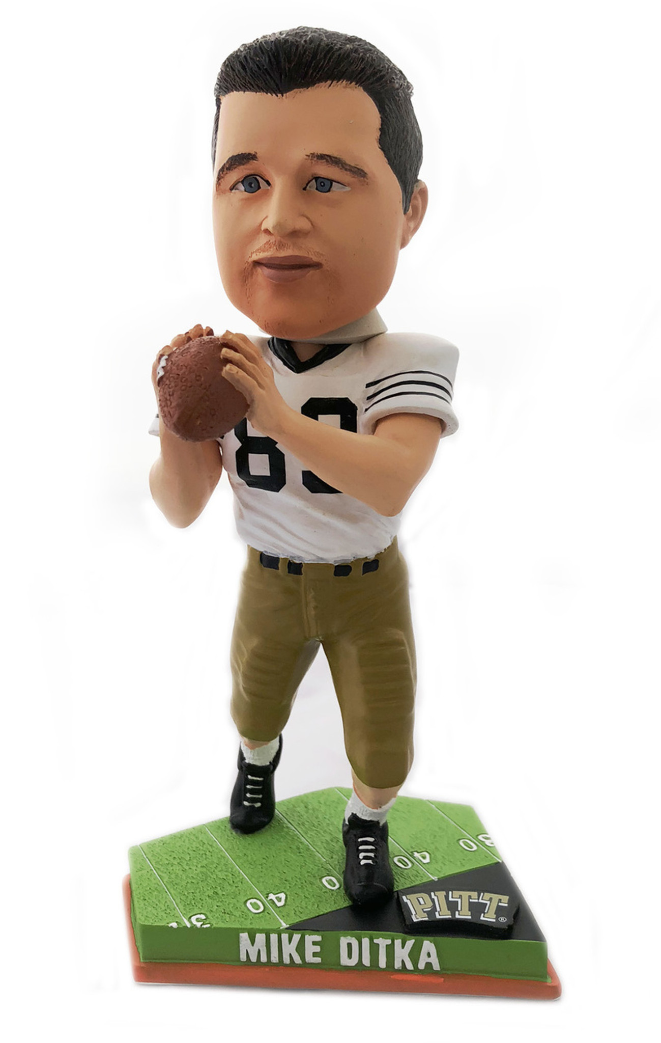 f0554b3abfd Pittsburgh Panthers Mike Ditka Forever Collectibles Bobblehead ...