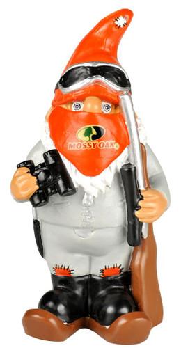 Mossy Oak Garden Gnome - Hunter w/Binoculars - Winter Version