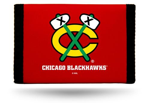Chicago Blackhawks Wallet Nylon Trifold