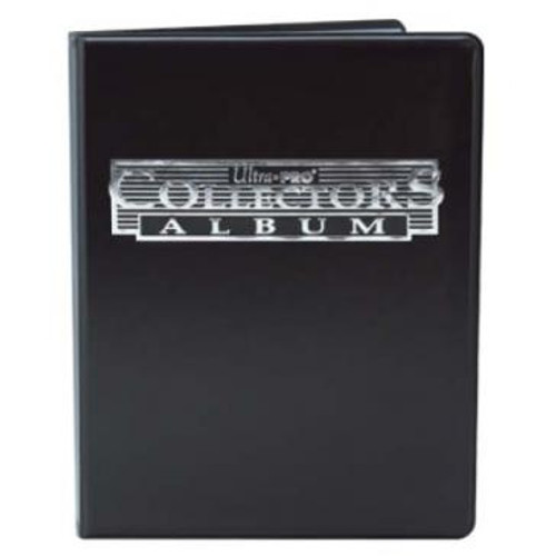 9 Pocket Collectors Portfolio - Black