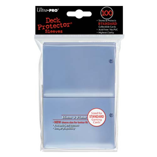 Deck Protector - Clear Standard (100 per pack)