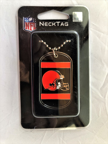 Cleveland Browns Necklace Tag Style