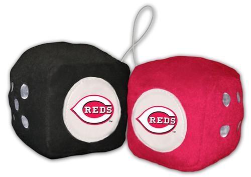 Cincinnati Reds Fuzzy Dice