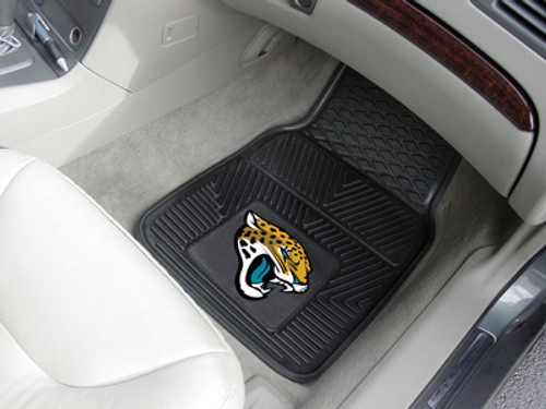 Jacksonville Jaguars Car Mats Heavy Duty 2 Piece Vinyl
