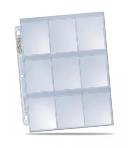 Ultra Pro 9-Pocket Secure Pages (100ct)