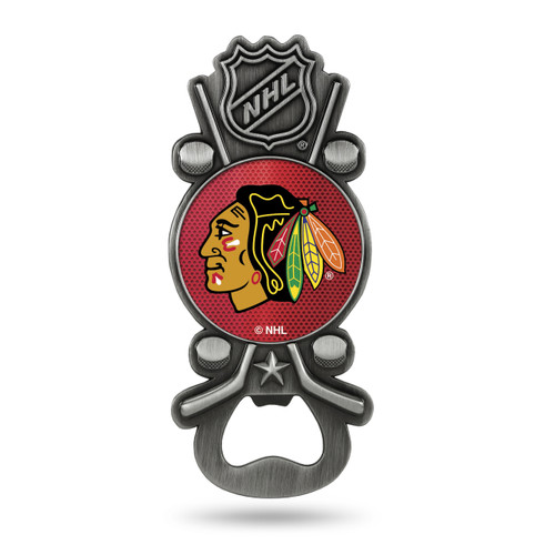 Chicago Blackhawks Bottle Opener Party Starter Style