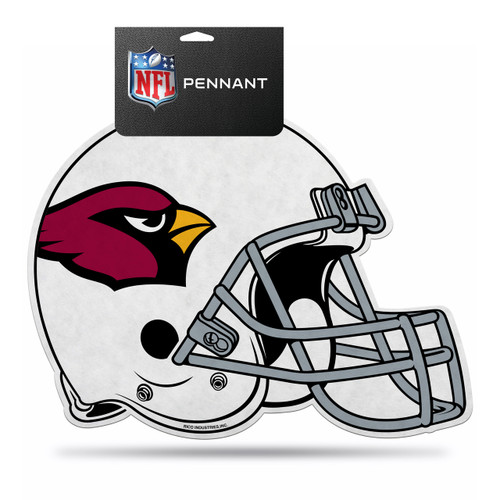 Arizona Cardinals Pennant Die Cut Carded
