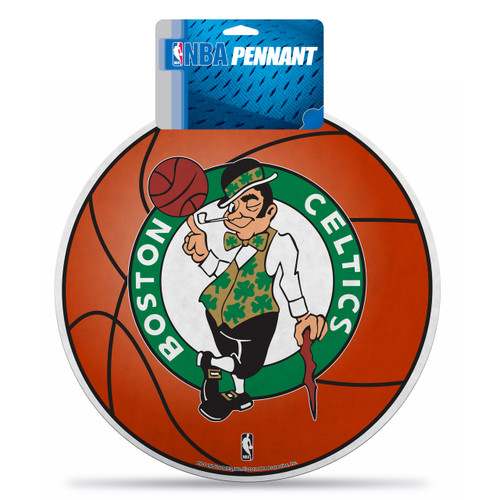 Boston Celtics Pennant Die Cut Carded