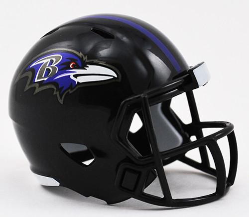 Baltimore Ravens Helmet Riddell Pocket Pro Speed Style