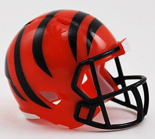 Cincinnati Bengals Helmet Riddell Pocket Pro Speed Style