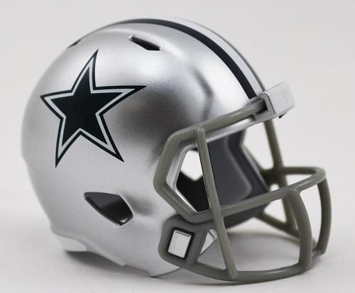 Dallas Cowboys Helmet Riddell Pocket Pro Speed Style