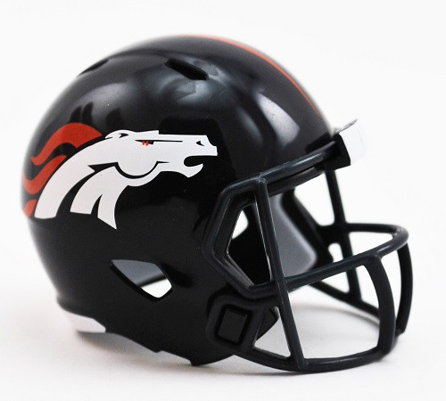 Denver Broncos Helmet Riddell Pocket Pro Speed Style