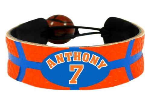 Carmelo Anthony Team Color NBA Jersey Bracelet