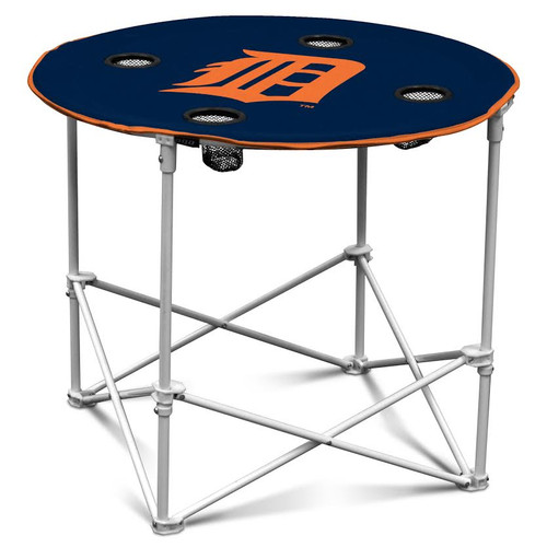 Detroit Tigers Round Tailgate Table
