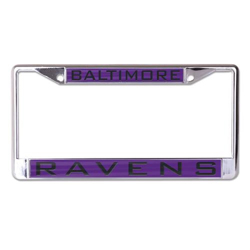 Baltimore Ravens License Plate Frame - Inlaid