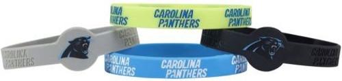 Carolina Panthers Bracelets 4 Pack Silicone