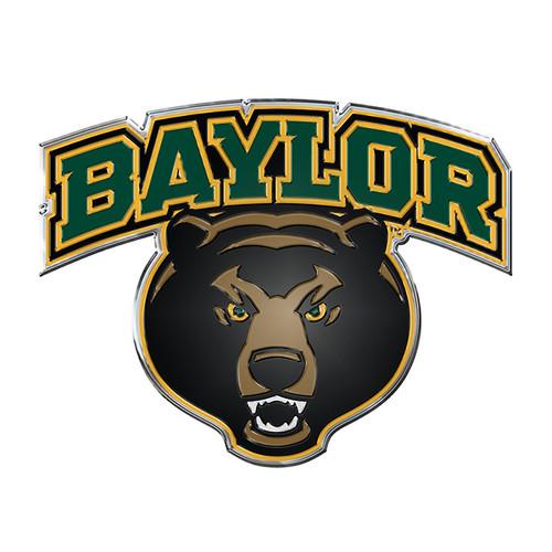 Baylor Bears Auto Emblem - Color