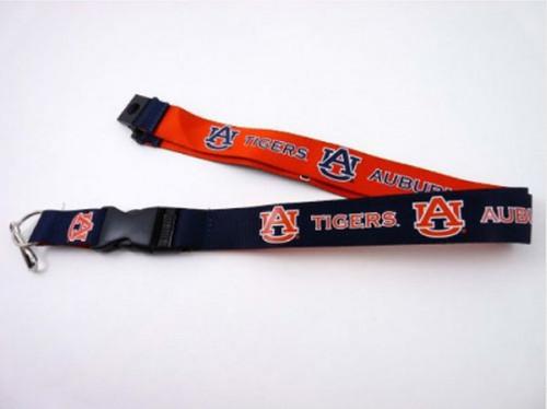 Auburn Tigers Lanyard Reversible