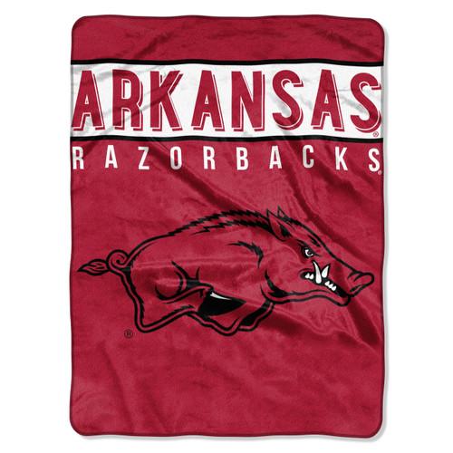 Arkansas Razorbacks Blanket 60x80 Raschel Basic Design Special Order