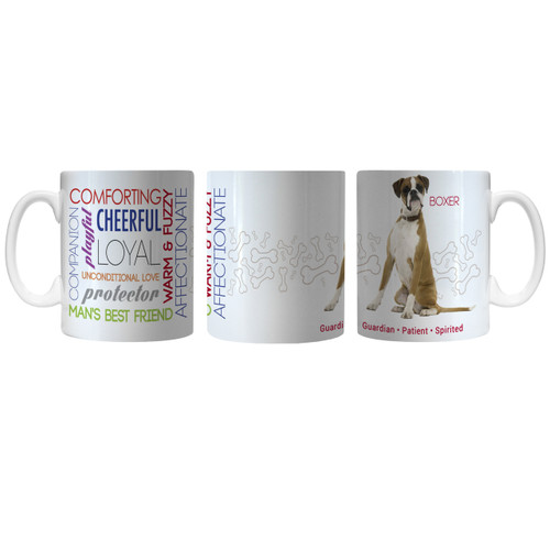Pet Coffee Mug 11oz Boxer