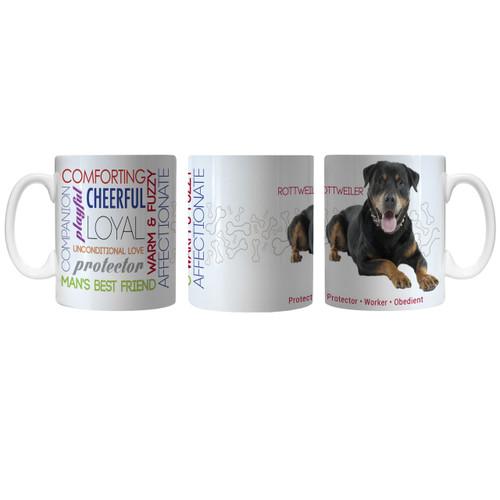 Pet Coffee Mug 11oz Rottweiler