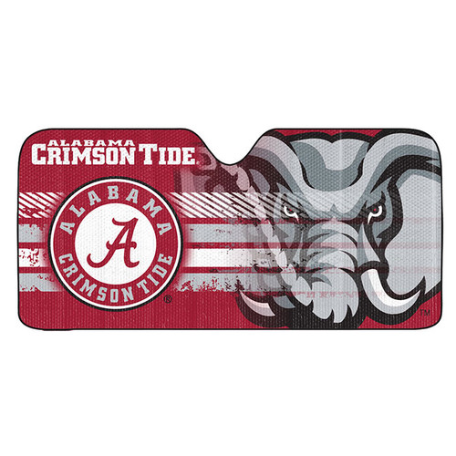 Alabama Crimson Tide Auto Sun Shade 59x27