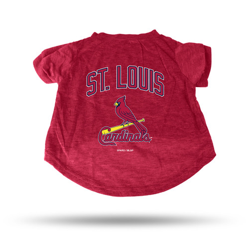 St. Louis Cardinals Pet Tee Shirt Size S