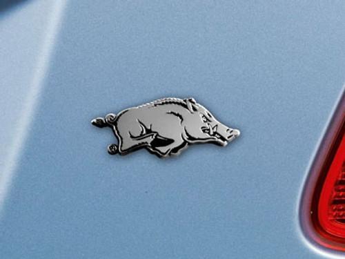 Arkansas Razorbacks Auto Emblem Premium Metal FanMats