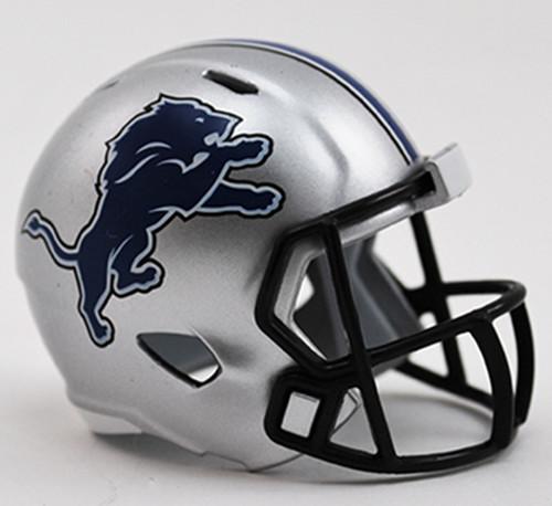 Detroit Lions Helmet Riddell Pocket Pro Speed Style