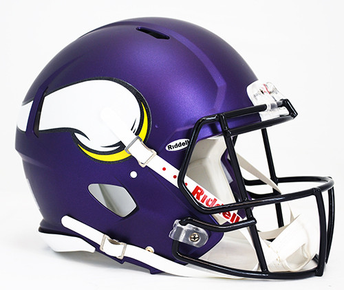 Minnesota Vikings Helmet Riddell Authentic Full Size Speed Style