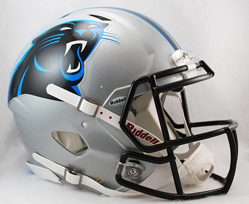 Carolina Panthers Helmet Riddell Authentic Full Size Speed Style
