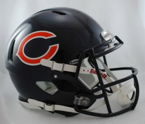 Chicago Bears Helmet Riddell Authentic Full Size Speed Style