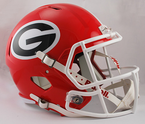 Georgia Bulldogs Helmet Riddell Replica Full Size Speed Style