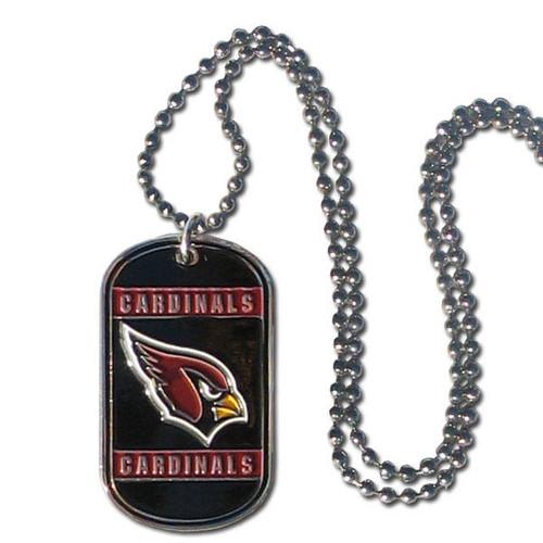 Arizona Cardinals Necklace Tag Style