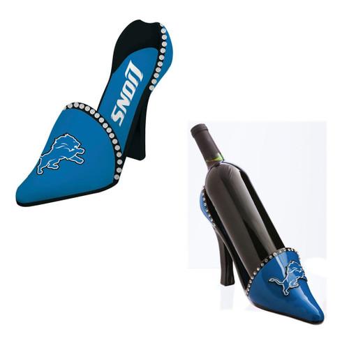 Detroit Lions Decorative Wine Bottle Holder - Shoe