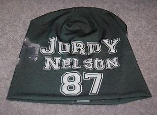 Green Bay Packers Beanie Lightweight Jordy Nelson Design