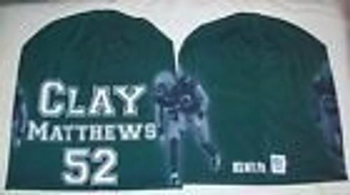 Green Bay Packers Beanie Lightweight Clay Matthews Design
