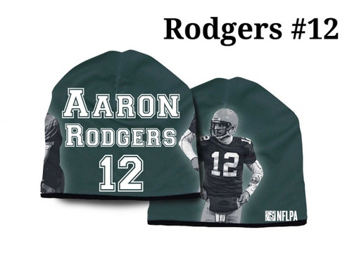 Green Bay Packers Beanie Heavyweight Aaron Rodgers Design