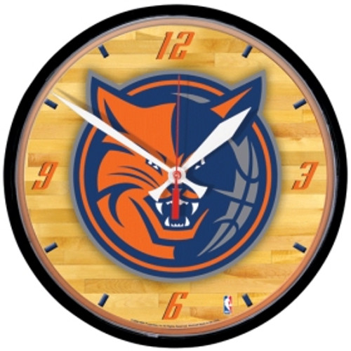 Charlotte Bobcats Clock Wall Style